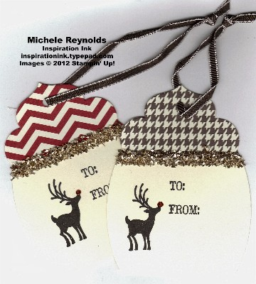 Joyous celebrations reindeer tags watermark