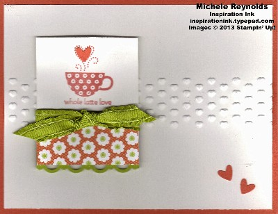 Patterned occasions floral latte love watermark