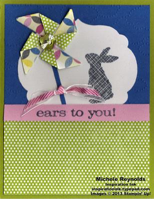 Ears to you pinwheel blowing bunny watermark