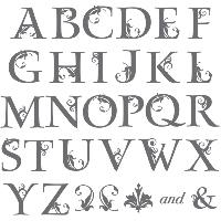 Lovely letters alphabet