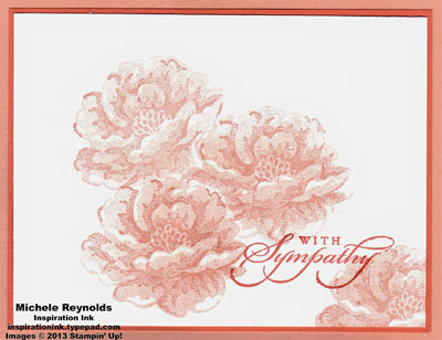 Best of greetings coral roses sympathy watermark