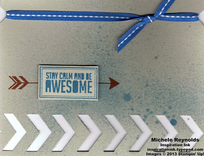 Show & tell 2 be awesome chevrons watermark