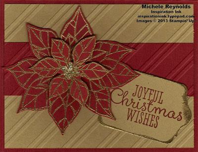 Joyful christmas poinsettia package watermark