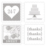 Pretty postage