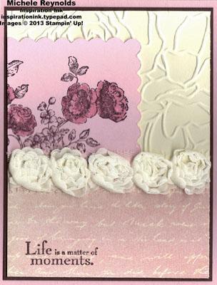 Elements of style fan fair roses watermark