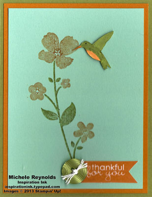 Wildflower meadow thankful flower watermark