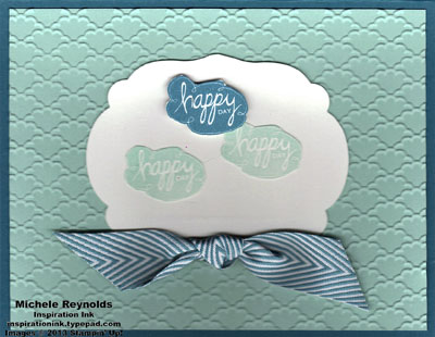 Best of greetings happy day clouds watermark