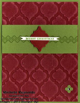 Mosaic madness ornament christmas watermark