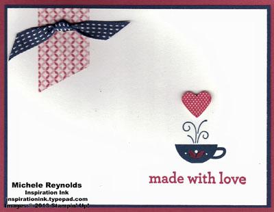 Kind & cozy simple washi love watermark