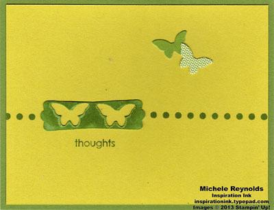 Try it kit green dot butterflies watermark