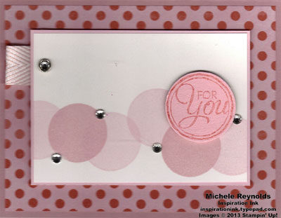 Chalk talk pink dots for you watermark