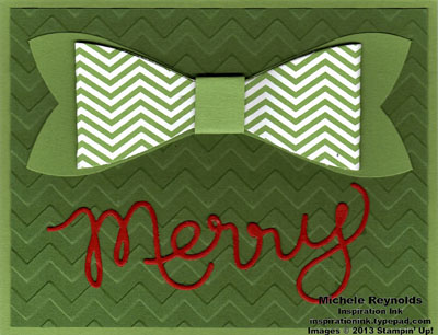 Gift bow merry package watermark