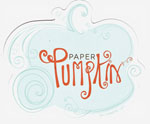 Paper pumpkin logo small
