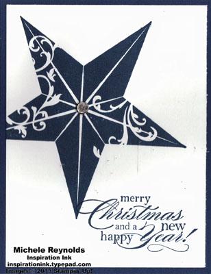 Christmas star midnight star wishes watermark