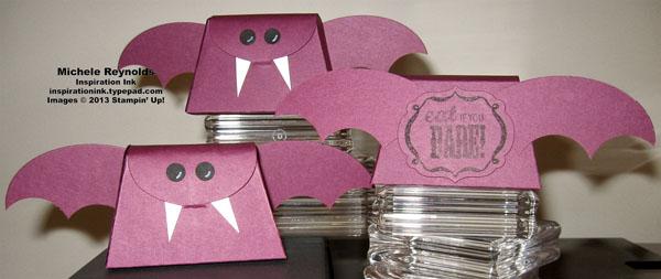 Halloween bash bat treat boxes watermark