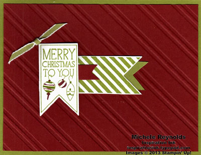 Perfectly you striped banner christmas watermark