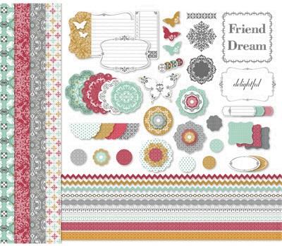 Afternoon daydream kit digital