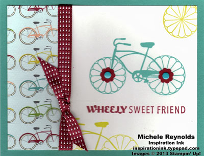 Cycle celebration sweet friend bikes watermark