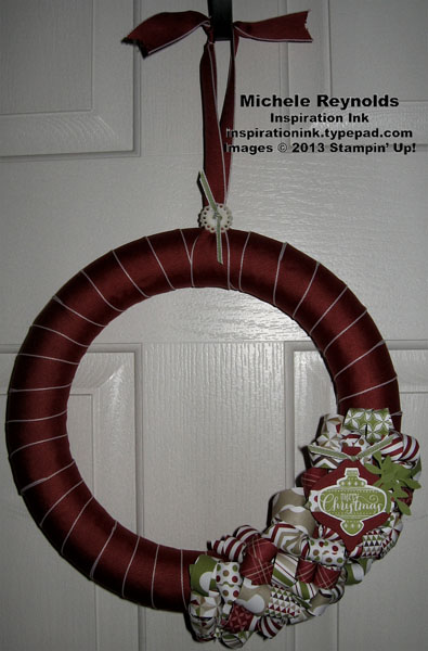 Best of christmas curly paper wreath watermark