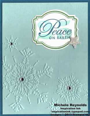 Greetings of the season framed peace watermark