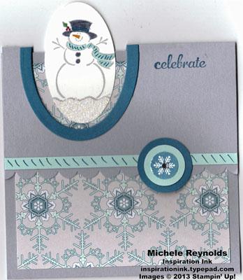 Best of snow fun fold snowman celebration watermark