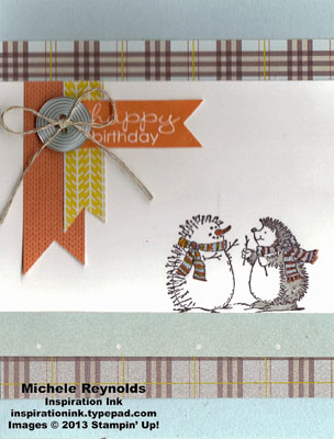 Best of snow hedgehog birthday banners watermark