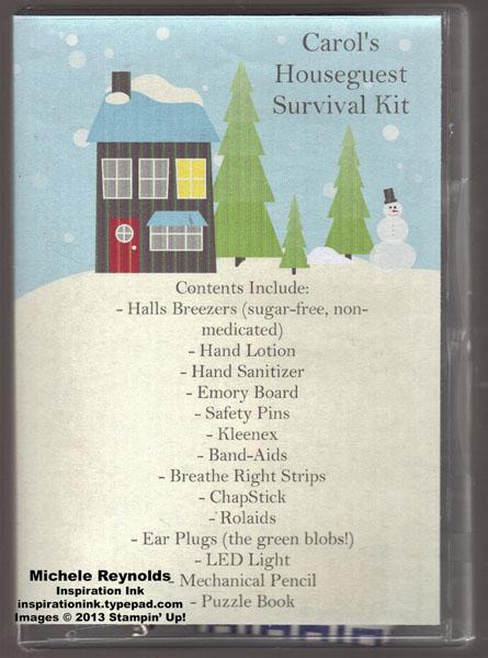 Houseguest survival kit watermark