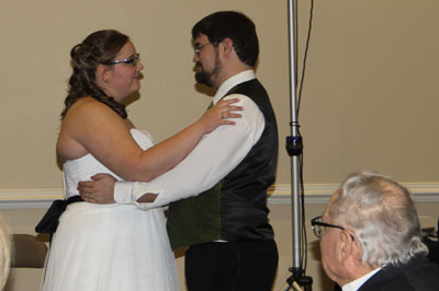 First dance as couple
