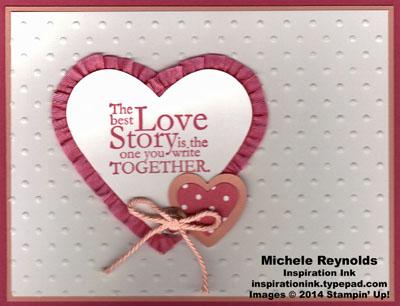One in a million love story heart watermark
