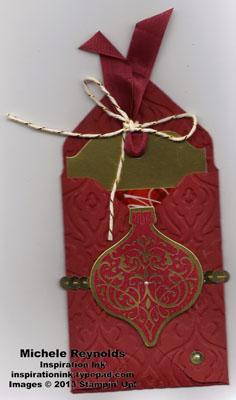 Ornament keepsakes gift card holder watermark