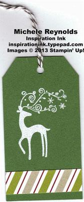 Best of christmas reindeer tag watermark