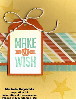Perfect pennants star fall wishes tag watermark