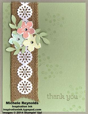Petite petals burlap and lace flowers watermark