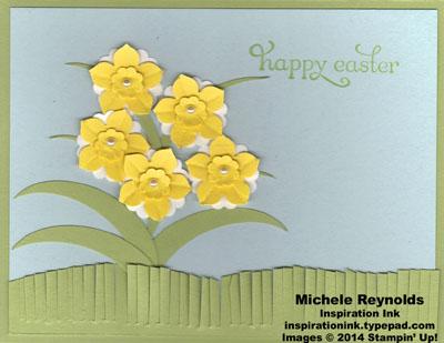 Delightful dozen daffodil easter watermark