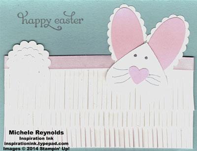 Delightful dozen fringed bunny watermark