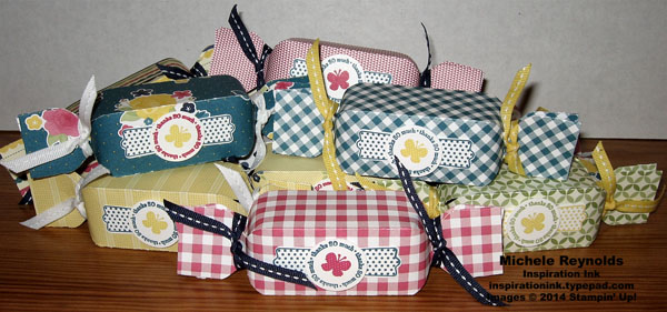 Fitting occasions gingham garden crackers watermark