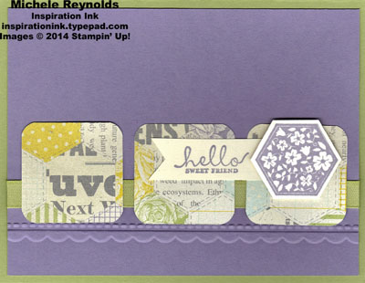 Six sided sampler afternoon picnic flowers watermark
