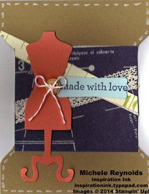 Kind & cozy spool card watermark