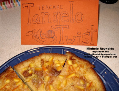 Tangelo twist teacake watermark