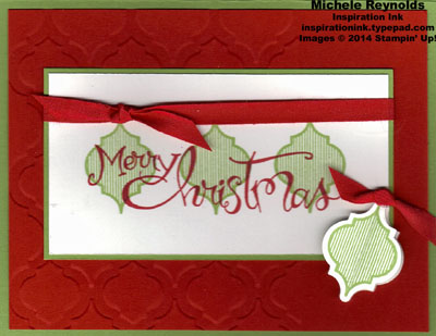 Mosaic madness christmas ornaments watermark