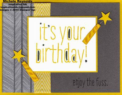Big news star candles birthday watermark