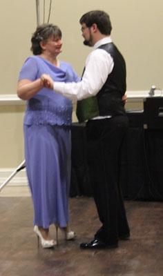 Brett and i dance