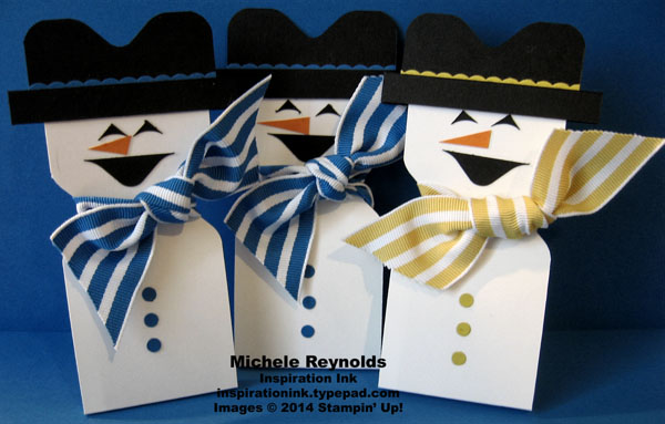 Snowman candy holders watermark