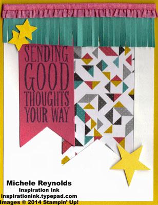 Perfect pennants kaleidoscope thoughts watermark