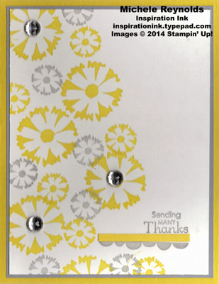 Petal parade daisy thanks watermark
