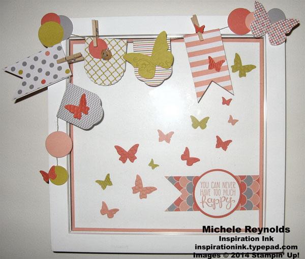 Yippee skippee happy butterflies artwork watermark