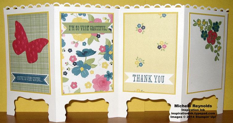 So very grateful folding screen watermark