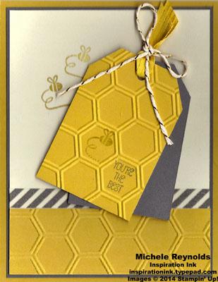 Honeycomb hello best bee tags watermark