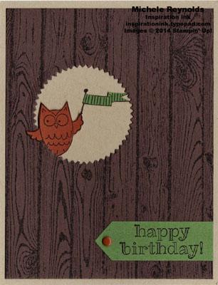 So very happy peeking owl birthday watermark