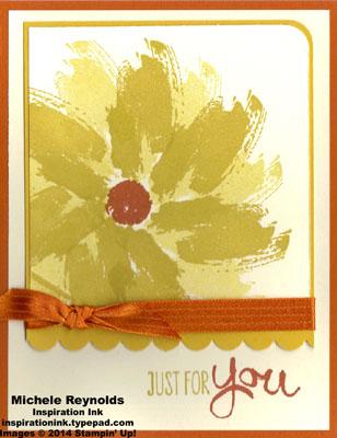 Work of art flower for you watermark